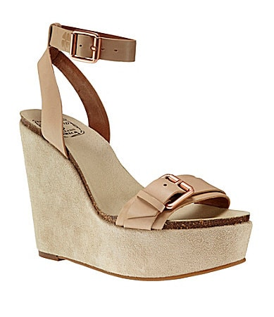 Lucky Brand Silvia Wedge Sandals