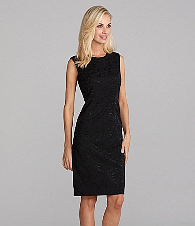 Louben Jacquard Lace Dress