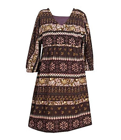 Bonnie Jean 7-16 Hachi Dolman Dress