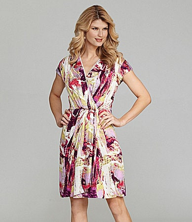 Antonio Melani Jackie Faux-Wrap Dress