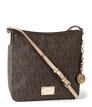 MICHAEL Michael Kors Signature Large Jet Set Messenger Bag
