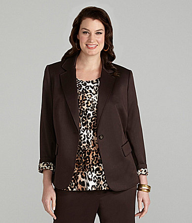 Alex Marie Woman Dawna Satin-Faced Jacket