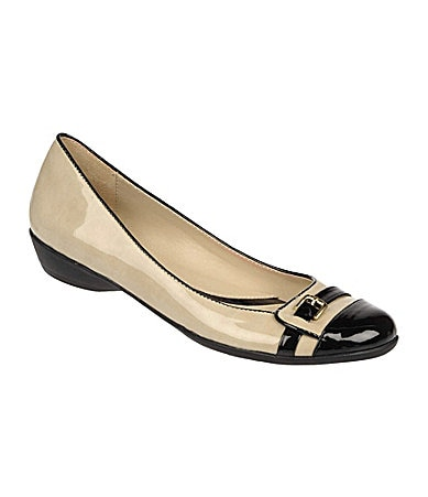 Naturalizer Heath Cap-Toe Flats