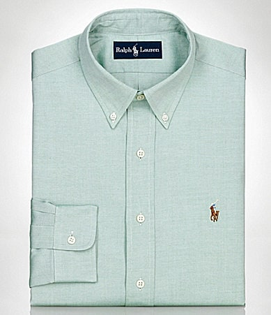 Polo Ralph Lauren Classic-Fit Pinpoint Oxford Dress Shirt