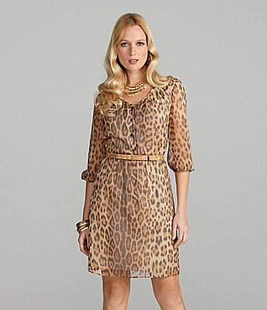 Cremieux Cora Leopard-Print Dress