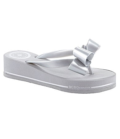 BCBGeneration Farikas Wedge Flip Flops