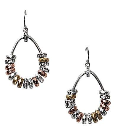 Fossil Rondell Teardrop Earrings