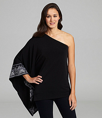 MICHAEL Michael Kors One Shoulder Top