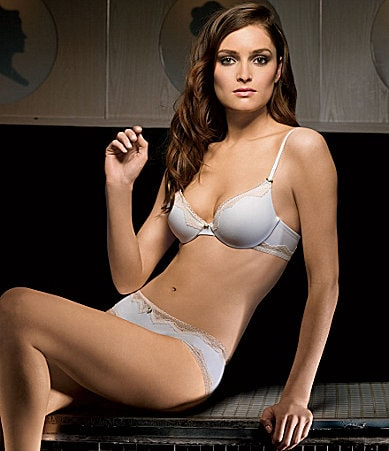 b.tempt�d by Wacoal Soft Touch Push Up Bra & Hipster Panty