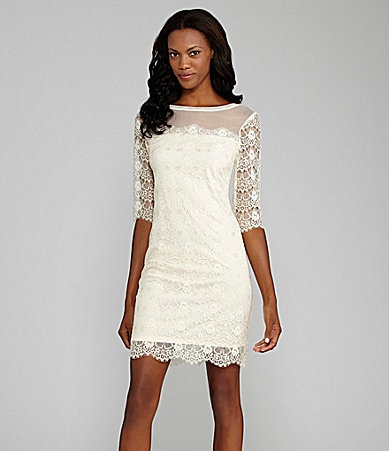 Max and Cleo Lace Cocktail Dress