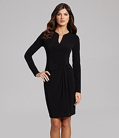 MICHAEL Michael Kors Twist-Front Dress