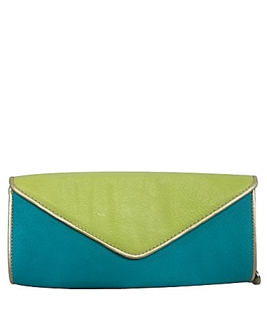 Big Buddha Angle Envelope Clutch