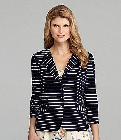 Antonio Melani Vincenza Stripe Jacket