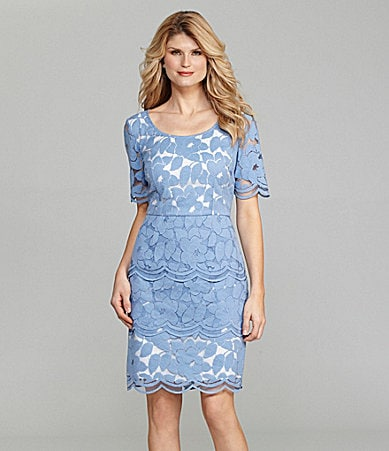 Antonio Melani Tatum Lace Tiered Dress