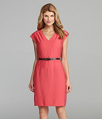 Antonio Melani Leotie Belted Sheath Dress