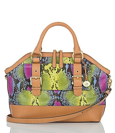 Brahmin Saratoga Collection Dakota Satchel