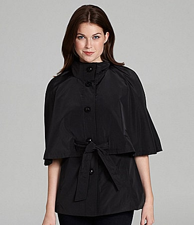 Betsey Johnson Anorak Cape Jacket