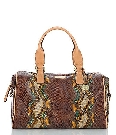 Brahmin St. Barts Collection Julian Satchel