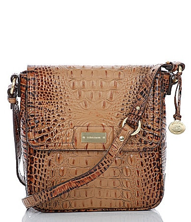 Brahmin Toasted Almond Collection Ellie Cross-Body Bag