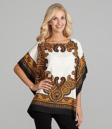 MICHAEL Michael Kors Flutter-Sleeve Tunic Top