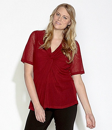 Karen Kane Woman Twist Top