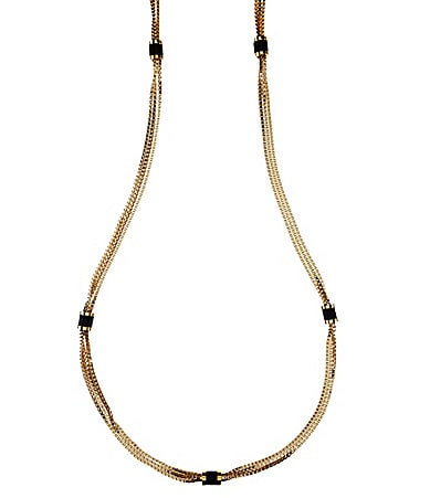 Vince Camuto Golden Edge Long Necklace