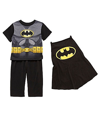 AME Toddler Batman 3-Piece Pajama Set