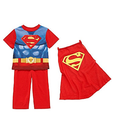 AME Toddler Superman 3-Piece Pajama Set