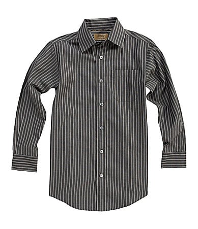 Class Club Gold Label 8-20 Striped Dress Shirt