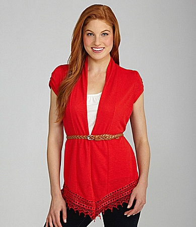 Soulmates Crocheted 2-Fer Top
