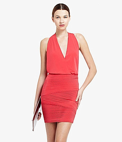 BCBGMAXAZRIA Jocelyn Halter Dress