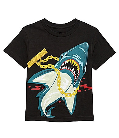 First Wave 8-20 JAWsome Shark Tee