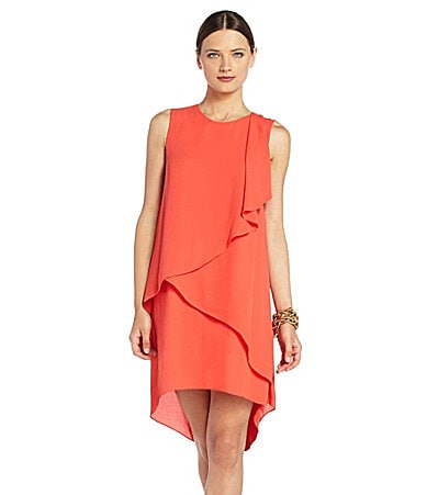 BCBGMAXARIA Rainer Tiered Dress
