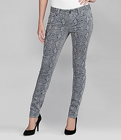 Buffalo David Bitton Snake-Print Jeans