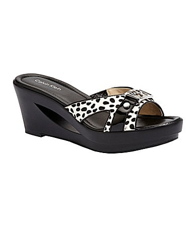 Calvin Klein Rebah Wedge Sandals