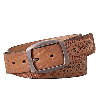 Fossil Signature Embroidery Belt