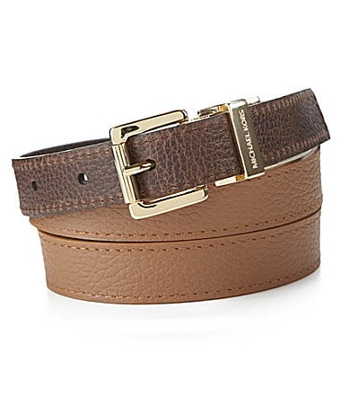 Michael Kors Reversible Tri-Color Belt
