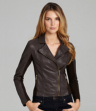 MICHAEL Michael Kors Moto Leather Jacket
