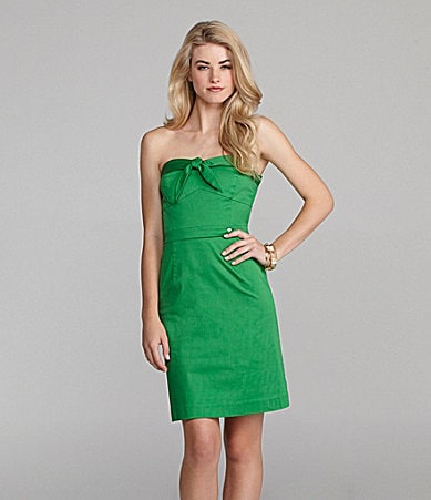 Cremieux Grace Strapless Knot Dress