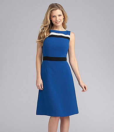 Preston & York Gigi Colorblock Dress