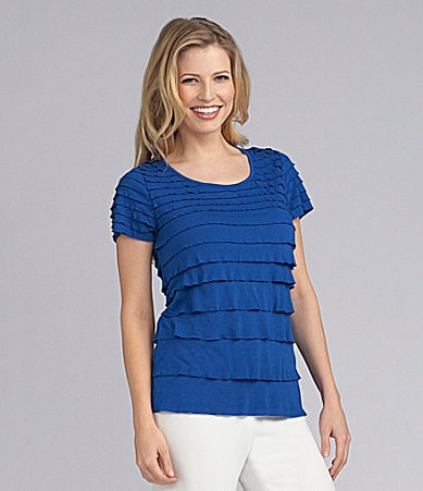 Preston & York Opal Knit Tiered Top