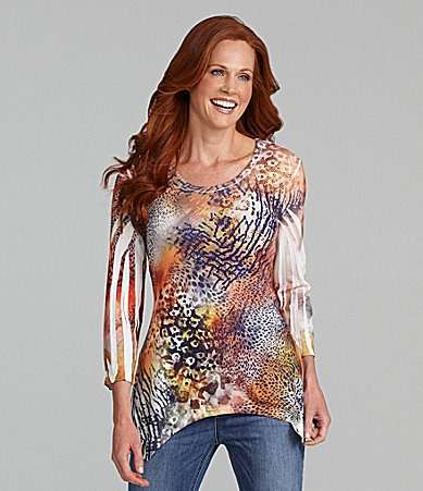 Reba Wild Animal Sublimation Top