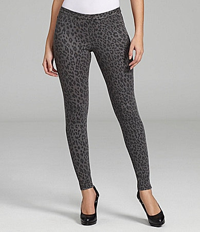 Hue The Original Jeans Leopard Print Leggings