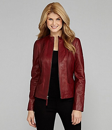 Antonio Melani Bell Leather Jacket