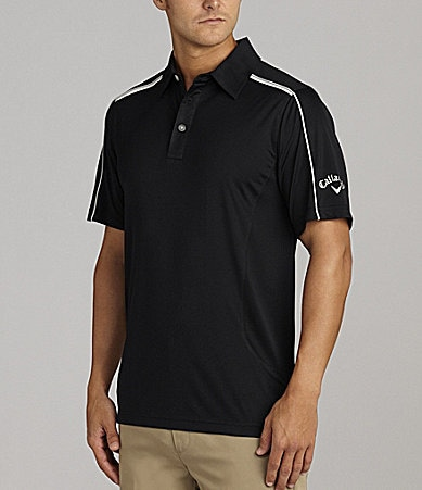Callaway Big & Tall Razor Colorblock Polo Shirt