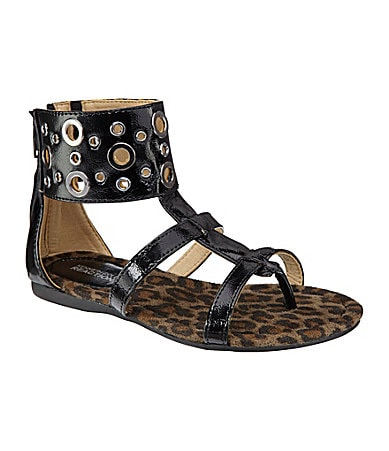 Kenneth Cole Reaction Girls Giggle Ur Toes Gladiator Sandals