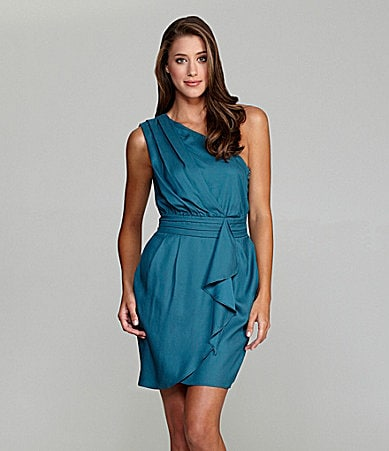 BCBGeneration One-Shoulder Dress
