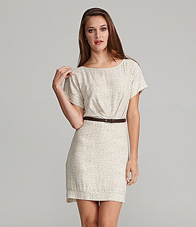 BCBGeneration Back Cut-Out Dress