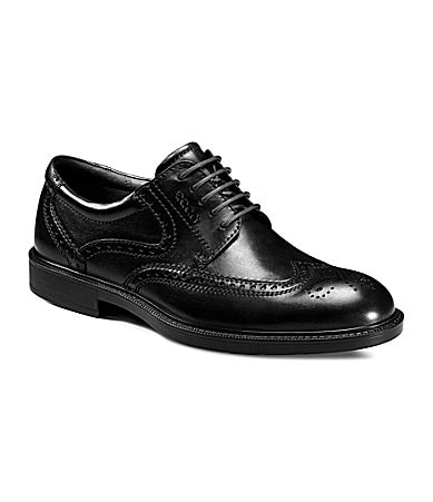 Ecco Men�s Atlanta Wing Tip Dress Oxfords