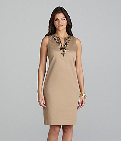 Alex Marie Julita Cotton Sateen Dress
